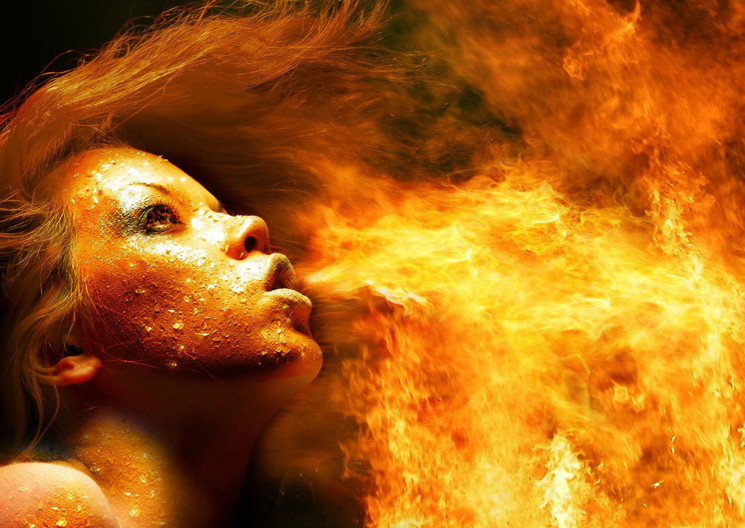 Building a fire with your writing
